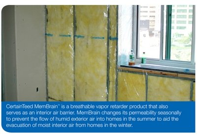 Controlling Air Flow With Air Barrier Systems Certainteed