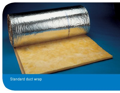 Energy Efficient Hvac System With Certainteed Softtouch Duct Wrap Certainteed