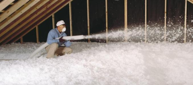 Northern White Blowing Insulation