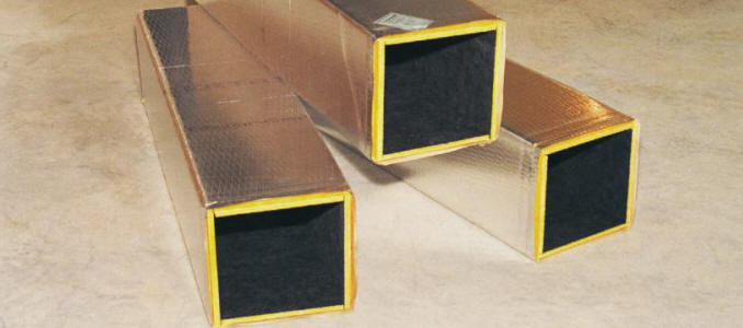 Ultra Duct Black Duct Board Hvac Insulation